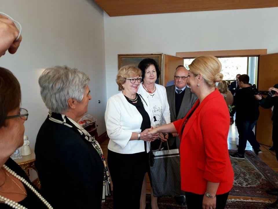 Predsjedništvo MUH na radnom sastanku kod predsjednice Hrvatske!