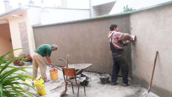 Renoviranje dvorišta udruge