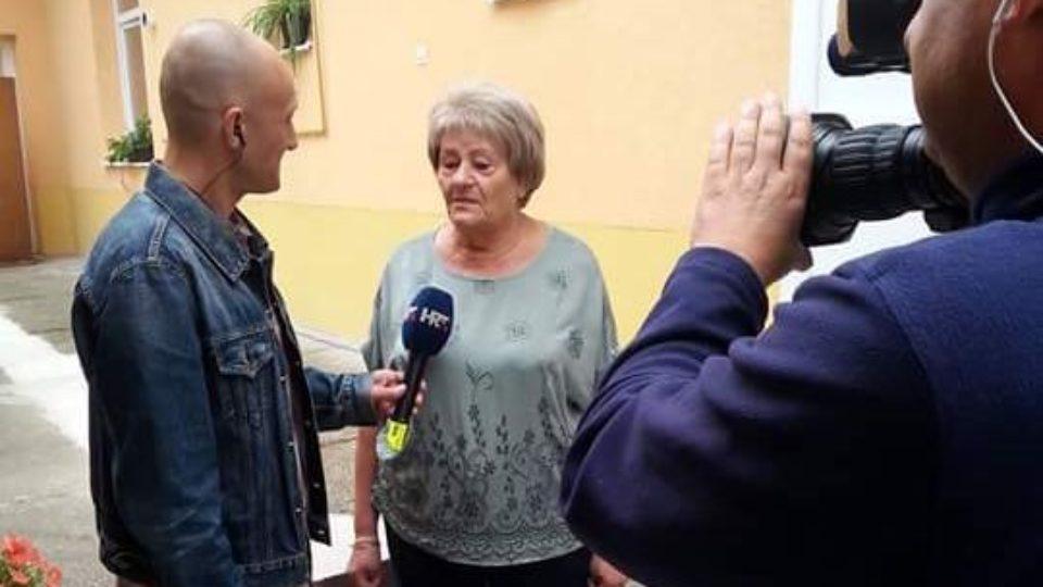 """Posjet HRT-ove ekipe """"Dobro jutro Hrvatska"""" našoj udruzi"""