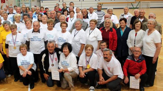 3 .Međunarodni sportski susret starijih osoba u Belom Manastiru